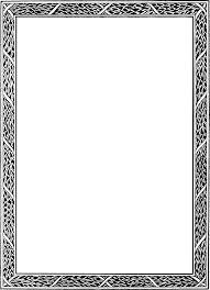 Clipart ornate frame
