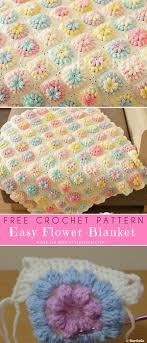 Free Crochet Designs For Beginners Flower Blanket For Beginner Free Crochet Pattern Styles Idea