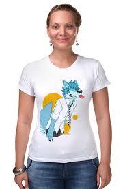 Футболка Стрэйч <b>Wolf teen</b> #738824 – заказать женские ...