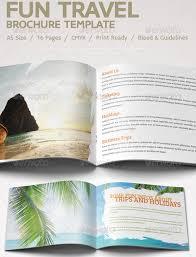 Fun Brochure Templates 40 Best Travel And Tourist Brochure Design Templates 2019
