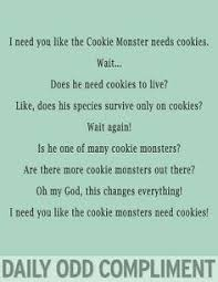 cookie monster quotes love. Fine Quotes Cookie Monster And Monster Quotes Love