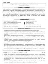 Resume For Property Manager Http Getresumetemplate Info 3306