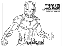 Small Picture Ant Man Giant Man Captain America Civil War Drawing Tutorial
