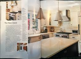 Kitchen Magazine Custom Kitchen Renovation Published In Signature Kitchens Baths