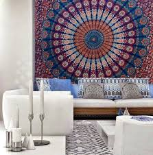 home accessory bedding mandala tapestry tapestry wall hanging living room beach throw beach blanket wall decor hang blanket on wall
