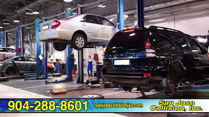 san jose collision auto paint truck repairs w lifetime warranty in jacksonville fl you