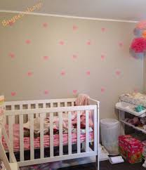 free metallic gold wall stickers heart shaped