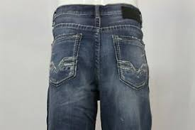Details About Bke Seth Abs17005 Straight Stretch Loose Fit Denim Jeans Mens Size 36r 36x31