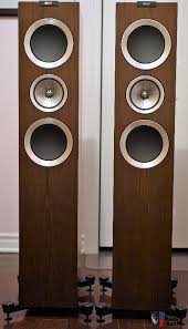 kef r700. kef r700 floor standing speakers in walnut (pair) ***pending sale r