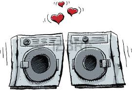 washing machine and dryer clipart. washer machine: a cartoon frontloading and dryer fall in lover. washing machine clipart