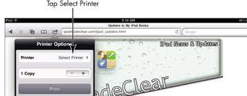 How Do I Print From My Ipad How To Print A Web Page On Ipad Dummies