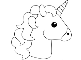 Coloring Pages Of Unicorns Cute My Little Unicorn Page Print Color