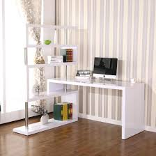 office desk with shelves. Astonishing Image Of Corner Desk With Shelves Minimalist Office Space Above T