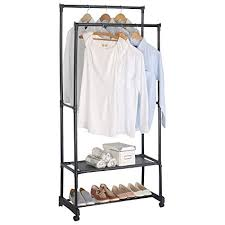 Heavy Duty Coat Rack With Shelf