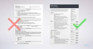 resume templates entry level resume template guide 20 examples