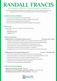 Experienced Resume Sample Experienced Nursing Resume Samples Best Of Sample Registered Nurse 45