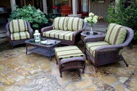 Gorgeous Sunbrella Patio Furniture Basso 5pc Collection With Linen
