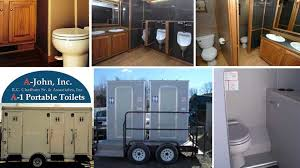 Bathroom Trailer Rental New A48 Portable Toilets AJohn IncSolar Portable Restroom Rentals