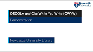 Oscola And Endnote Endnote Libguides At Newcastle University