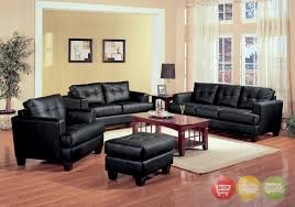 black leather living room furniture. Delighful Leather Lovable Living Room Furniture Black Sensational Ideas Leather  Contemporary For G