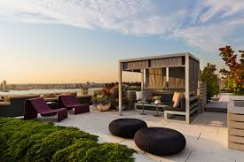 rooftop furniture. Contemporary Patio By BarlisWedlick Architects Rooftop Furniture Houzz