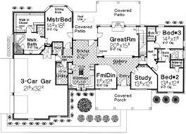 Big House Plans Floor Plan Designs  Architecture Plans  4051Large House Plans