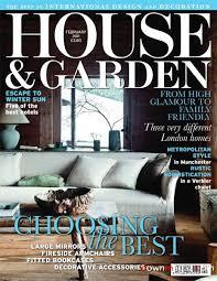house and garden magazine.  Magazine House And Garden  February 2011 UK To And Magazine