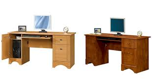 check out this beautiful 60 computer desk it is available in cinnamon cherry canyon maple or brushed maple office depot office max has the realspace