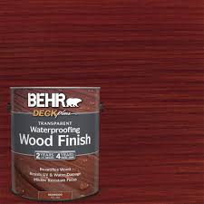 Red wood stain Cedar Redwood Transparent Waterproofing Exterior Wood Finish Home Depot Behr Deckplus Gal Redwood Transparent Waterproofing Exterior Wood