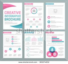 vector template for multipurpose presentation slides with graphs and charts infographic elements chart