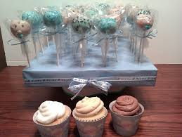 Its A Boy Baby Shower Cupcake And Cake Pops Cakecentralcom