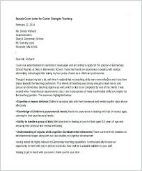 Elementary Teaching Cover Letter Cover Letter Example For Career