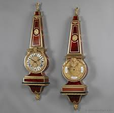 an exceptional tortoiseshell inlaid boulle clock and b