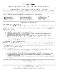 Sample Sales Representative Resume Create My Resume Sample