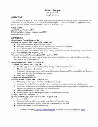 Template Social Work Resume Format Awesome Worker Template Sample