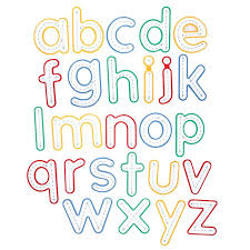 Write And Wipe Letters Lowercase 26 Pieces