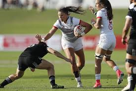 women s sevens stun series champion new zealand in dubai cup qf usa rugby matches