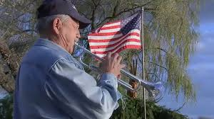 Crystal Lake man honors veterans with nightly taps tribute from Memorial  Day to Veterans Day - ABC7 Chicago