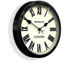 threshold wall clock delightful ideas black wall clock clocks over to choose from threshold wall clock