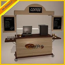 office coffee cart. 3ds Max Coffee Cart Office U
