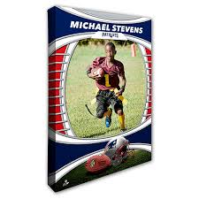 personalized nfl canvas prints new