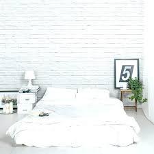 Brick Wall Bedroom Ideas Brick Wallpaper Bedroom Brilliant White Brick  Wallpaper Bedroom In Mural Bedroom Ideas