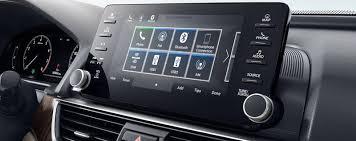 2018 honda accord interior. interesting honda 2018 honda accord display touch screen inside honda accord interior