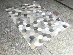 cowhide patchwork rug gray beige handmade sew natural cowhide patchwork fur rug modern design cowhide patchwork