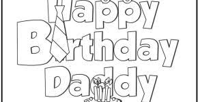 Small Picture 1 dad ribbon coloring page happy fathers day pinterest