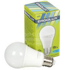 <b>Лампа светодиодная Ergolux LED-A60-12W</b>, 12 Вт, E27 ...