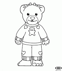 Small Picture Bananas in Pyjamas Coloring Pages Free Printable Pictures Sheets
