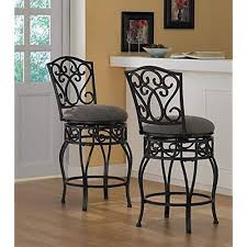wrought iron swivel bar stools. Perfect Swivel Chase 24inch 360 Swivel Counter Stools Set Of 2 Throughout Wrought Iron Bar N