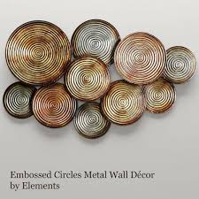 marvelous metal circle wall decor half circle metal wall decor