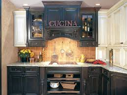 Antique Black Kitchen Cabinets Interesting Inspiration Design
